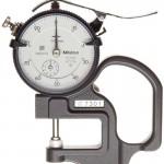 Thước đo độ dày 0-10mm 7301 Mitutoyo