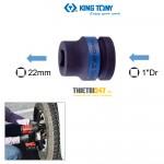 """Đầu tuýp Kingtony 851422M 1""""DR vuông 22mm chuyên mở bánh xe"""