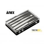 Bộ nhíp inox 5 chi tiết No.1090 Anex Nhật bản