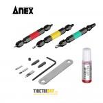 Bộ tháo đinh ốc vít tòe đầu No.ANH-S3 Anex Nhật