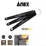 Bộ tô vít 3 cái No.6102-T Anex Nhật bản