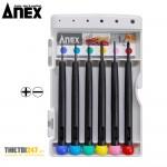 Bộ tô vít sửa chữa điện tử, đồng hồ, mắt kính No.900 Anex