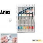 Bộ tua vít sửa đồng hồ, mắt kính Nhật bản Anex No.700