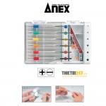 Bộ tua vít sửa đồng hồ, mắt kính Nhật bản Anex No.800