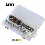 Bộ vặn ốc đa năng No.AOA-19S2 Anex Nhật