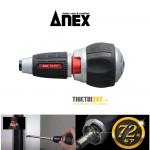 Cán tô vít 6.35mm No.397-H Anex Nhật bản