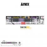 Mũi vặn vít 2 đầu có từ tính (+)2 x 110mm No.ABRS-2110 Anex