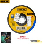 Đá cắt Inox DeWalt DWA8060 100x1.2x16mm