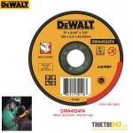 Đá cắt kim loại DeWalt DWA4524FA 180x2.5x22mm