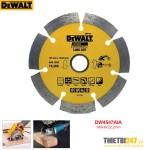 Đĩa cắt gạch kim cương cắt khô Dewalt DW4785 105x10x20mm