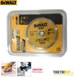 Đĩa cắt gạch kim cương cắt ướt Dewalt DW4790 105x7x20mm