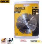 Đĩa cắt gạch kim cương Dewalt DW4781 105x7x20mm