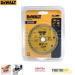 Đĩa cắt gạch kim cương ướt khô Dewalt DW4724 105x7x20mm