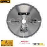 Lưỡi cắt nhôm Dewalt DWA03260 TCT 255mm 120 răng