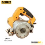 Máy cắt gạch ướt khô Dewalt DW860 110mm 1300W
