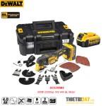 Máy cắt rung đa năng pin Dewalt DCS355M2 300W 22000vp 18V 4Ah BL Motor
