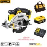 Máy cưa đĩa dùng pin Dewalt DCS391P2 165mm 460W 3700rpm 18V 5Ah