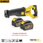Máy cưa kiếm dùng pin Dewalt DCS388T2 40mm 2400spm 54V 6Ah BL Motor