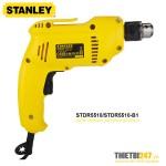 Máy khoan cầm tay Stanley STDR5510 550W 2800rpm sắt 10mm gỗ 25mm