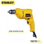 Máy khoan cầm tay Stanley STEL101 400W 2700rpm sắt 10mm gỗ 20mm