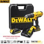Máy khoan vặn vít động lực pin Dewalt DCD776C2 13mm Li-Ion 18V 1.3Ah