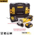 Máy mài góc dùng pin Dewalt DCG412D2B 125mm 405W 7000rpm 18V 2Ah