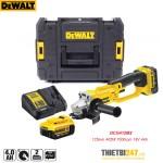 Máy mài góc dùng pin Dewalt DCG412M2 125mm 405W 7000rpm 18V 4Ah