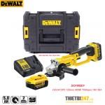 Máy mài góc dùng pin Dewalt DCG412P2 125mm 405W 7000rpm 18V 5Ah