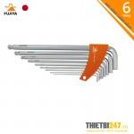 Bộ lục giác có đầu bi 7 chi tiết FBW-900S Fujiya 1.5-10mm