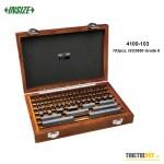 Bộ Block gauge 103 chi tiết Insize 4100-103 ISO3650 Grade 0