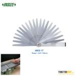 Bộ dưỡng đo khe hở Insize 4602-17 0.02~1.00mm 17 lá L100mm