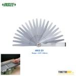 Bộ dưỡng đo khe hở Insize 4602-20 0.05~1.00mm 20 lá L100mm