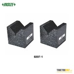 Bộ khối V đá granite Insize 6897-1 70x70x50mm 2 cái