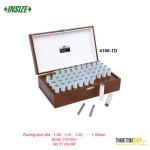 Bộ Pin Gauge Trục Chuẩn 51 Chi Tiết Insize 4166-1D 1.00~1.50mm