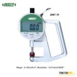 """Đồng hồ đo độ dày điện tử Insize 2867-10 0~10mm 0~0.4"""""""
