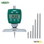 """Đồng hồ đo sâu điện tử Insize 2141-202 0~300mm 0.005mm 0~12"""" 0.0005"""""""