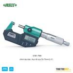 """Panme đo ngoài điện tử Insize 3101-75A IP55 50~75mm 2~3"""""""