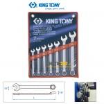 Bộ cờ lê vòng miệng 10-19mm Kingtony 1207MR 7 cái
