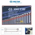 Bộ cờ lê vòng miệng 6-24mm Kingtony 1218MR01 18 cái