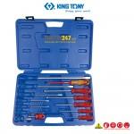 Bộ tua vít thường và tua vít cách điện Kingtony 35114MR 14 cái