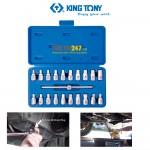 Bộ tuýp mở ốc xả dầu nhớt Kingtony 9AR11 21 chi tiết