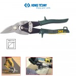 Kéo cắt tôn Kingtony 74020 248mm mũi cong trái