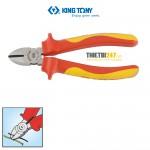 Kìm cắt cách điện VDE 1000V Kingtony 6216-06A 167mm