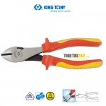 Kìm cắt nặng cách điện VDE 1000V Kingtony 6236-07A 190mm