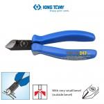 Kìm cắt tuốt dây điện kingtony 6213-06 163mm