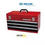 Thùng đồ nghề 3 ngăn Kingtony không khóa 87401-3 504x195x52mm