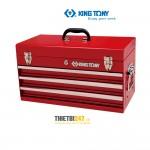 Thùng đựng đồ nghề 3 ngăn Kingtony 87401-3H có khóa 504x195x52mm