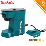 Máy pha cà phê dùng pin DCM500Z Makita 18V