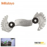 Bộ dưỡng đo bước ren Mitutoyo 188-121 18 lá 0.4~7mm