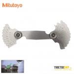 Bộ dưỡng đo bước ren và góc 60 độ Mitutoyo 188-130 22 lá 0.35~6mm
